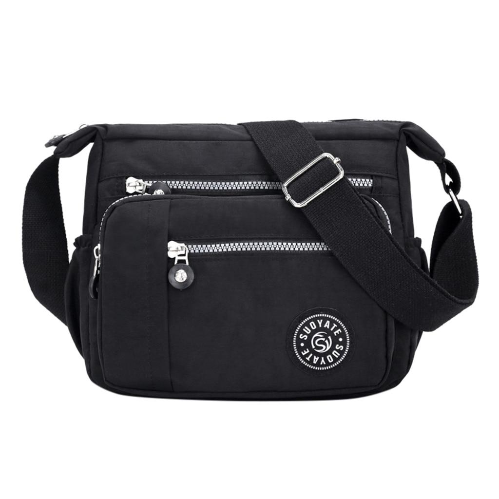 Women Bag 2019 Fashion Women Nylon Messenger Single Shoulder Crossbody Bag Waterproof Female Messenger Bags Bolsa Feminina Sac