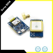 Double Sided GPS Mini Module Neo-6m Satellite Positioning Microcontroller 51 SCM MCU Development Board for Arduino STM32 C51 diy diy at89s52 microcontroller development board set for arduino works with official arduino boards