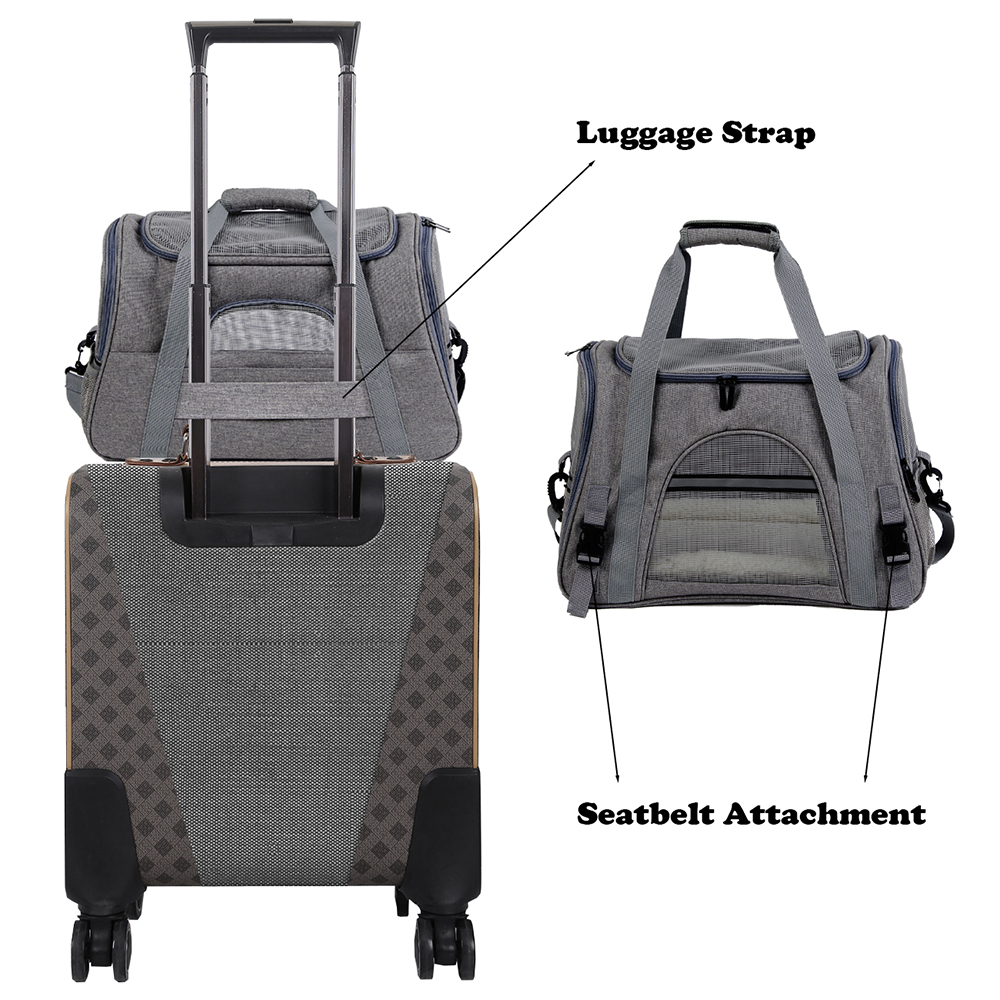Portable Small Dog Backpack Carrier 14