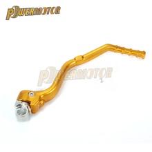 цены на Aluminum CNC Forged Kick Start Starter Lever Pedal Arm For SUZUKI RMZ450 RMZ 450 2008 2009 2010 2011-2016 Motocross Dirt Bike  в интернет-магазинах