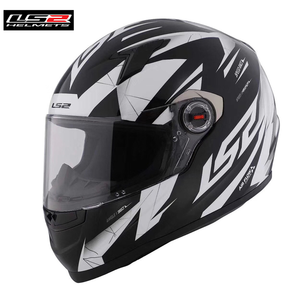 LS2 Volle Gesicht Racing Motorrad Helm Casco Capacete Casque Moto Helme Kask Helm Caschi Für Suzuki Motor FF358 Klassische