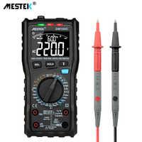 MESTEK multimètre numérique analogique vrai RMS NCV multimètre automatique résistance tension température multimétro compteur sans contact