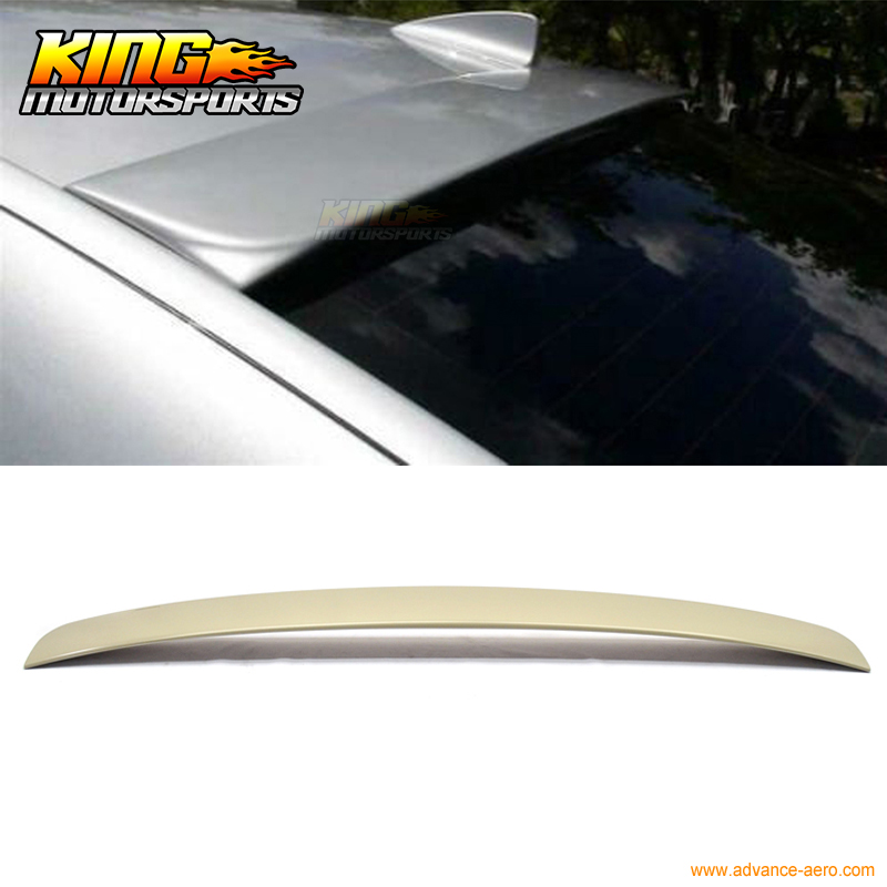 Fit For 02-08 BMW 7 Series E65 E66 4Dr AC Style UnPainted ABS Roof Spoiler