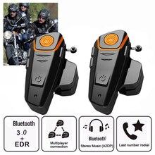2 Pcs BT S2 Pro Motorhelm Intercom Motorbike Draadloze Bluetooth Headset 100% Waterdichte Bt Interphone Met Fm Radio 2018