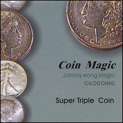 Super Triple Coin By Johnny Wong -Magic Trick
