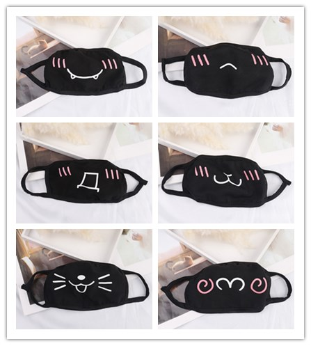 Kawaii Anti Dust Mask Cotton Mouth Mask Cute Unisex Cartoon Mouth Muffle Kpop Face Mask Korean Bear Masks