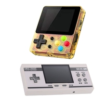 2Pcs Handheld Game Console 1Pcs 3 0-Inch Screen Game Player 348 Games White amp 1Pcs 2 4 Inch IPS 188 Classic Games Gold cheap PLEXTONE