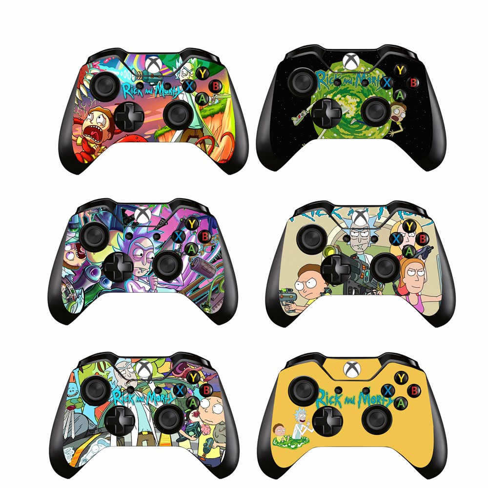 Rick and Morty Skin Sticker Cover Decal For Microsoft Xbox one Game Controller Gamepad Skins Stickers for Xbox one Controller