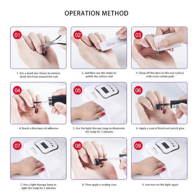 Сушилка для ногтей Светодиодная УФ-лампа для ногтей 6