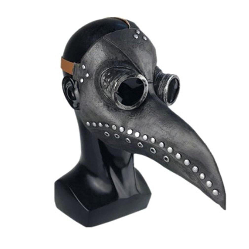 Halloween Plague Steam Bird Mouth Mask Punk Mask Plague Mask Bird Beak Mask Halloween Accessories