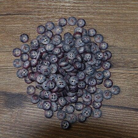 50 шт. смолы Кнопка клип круглый микс два отверстия подходит для одежды diy кнопки сумки аксессуары - Цвет: 50PCS 12mm