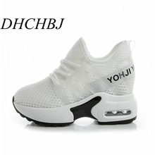 10CM Summer Women sneakers High Heels Pl
