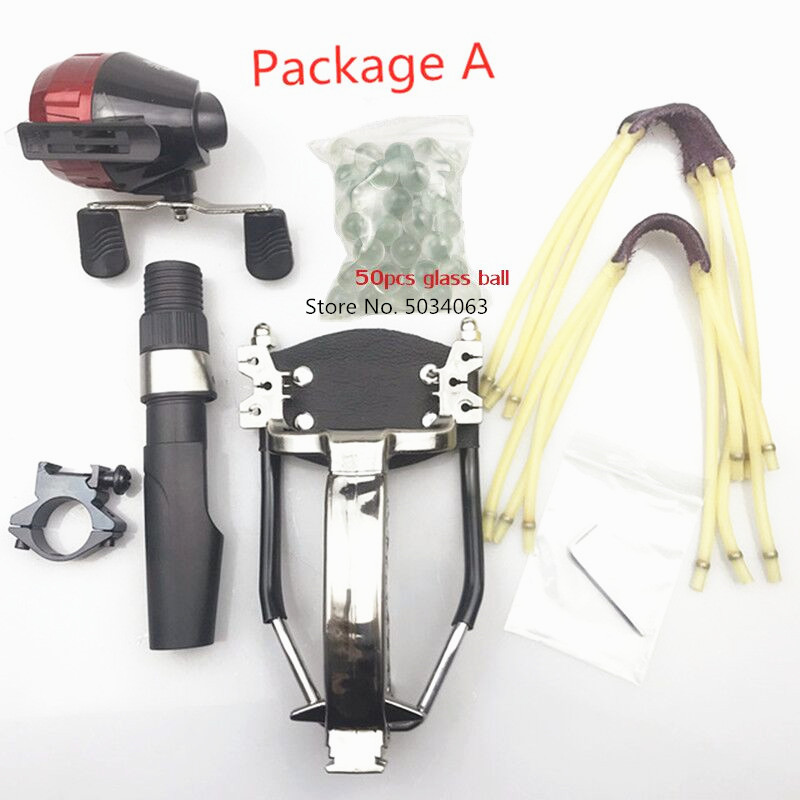 Slingshot Shooting Fishing Slingshot Bow And Arrow Shooting Powerful Fishing Compound Bow Catching Fish High Speed Hunting