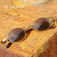 Мужские и женские винтажные очки shauna маленькие овальные солнцезащитные
