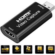 4K HDMI To USB 2.0 Game Record Live Video Capture Card USB 1