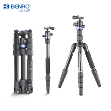 Benro IF19 Tripod Aluminium Portable Travel Tripods For Camera Reflexed Monopod 5 Section Carrying Bag Max Loading 8kg DHL Free
