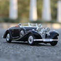 Maisto 1:18 Mercedes clásico de aleación de coche Retro modelo de coche clásico coche modelo coche decoración colección regalo