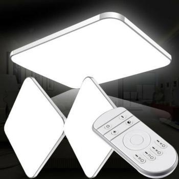 New 64W LED Ceiling Lights 220V Modern Lamp Square Flush Mount Fixture Lighting For Living Room Bedroom Kitchen Study Balcony