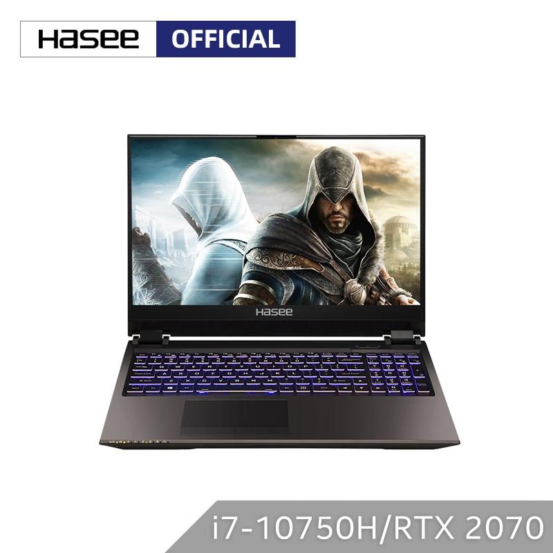 Ноутбук Hasee Z9 CU7PK для игр (Intel Core I7 10750H + RTX 2070/16 ГБ ОЗУ/256 ГБ SSD + 1T HDD/15,6 дюйма 144гц IPS 72% NTSC) ноутбук|Ноутбуки|   | АлиЭкспресс