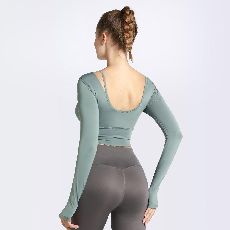 Long Sleeve Sports Shirt for Women Clothing Tops & T-shirts Womens
