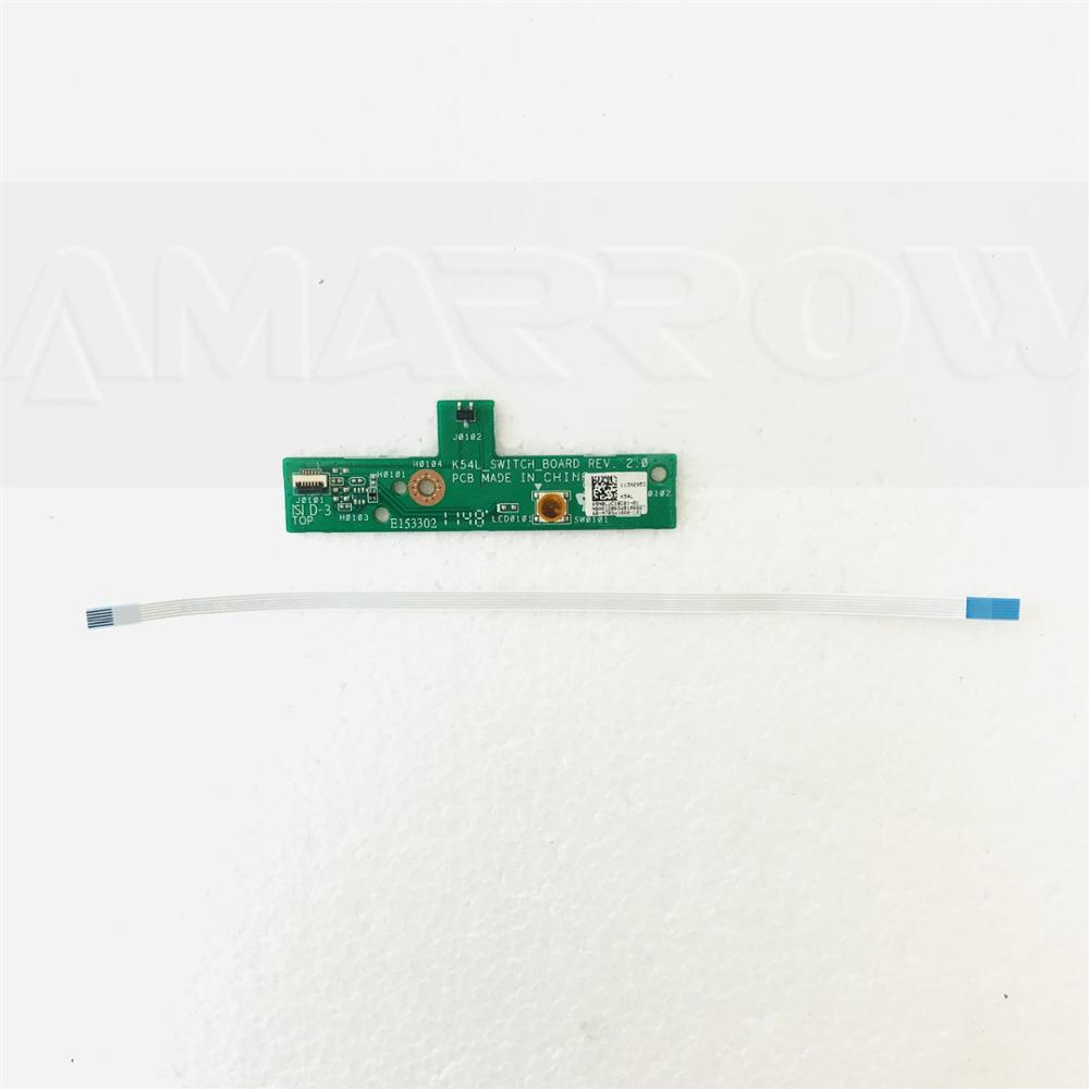 Original For Asus X54H K54HR K54L X54 K54 Power Button Board Switch Board 69N0LJC10C01
