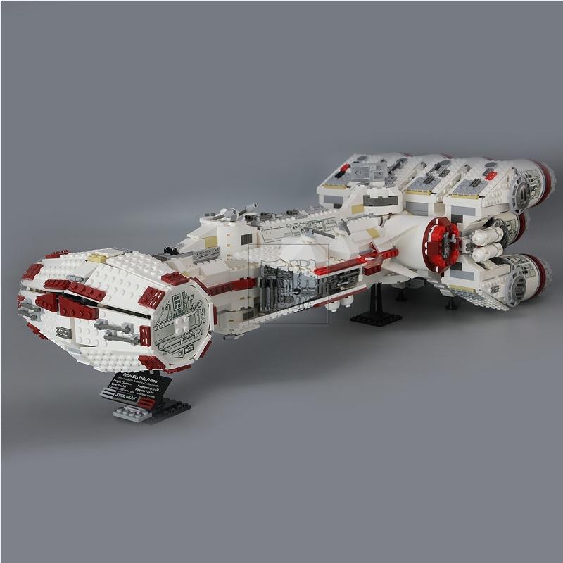 LP 05046 1748Pcs Star Series Wars The Tantive IV Rebel Blockade Runner Set Building Blcoks Bricks Toys Clone 10019