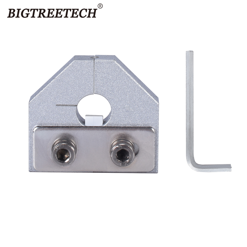 3D Printer Parts Filament Welder Connector 1.75mm/3.0mm PLA ABS Filament Sensor For Ender 3 Pro Anet 3D Printer Aluminum Block