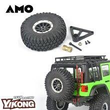 YIKONG – pneu de rechange + support de pneus de rechange, voiture télécommandée, voitures d'escalade sur chenilles, modèle 1/10, YK4102PRO, 13189