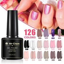 Mr Chem Gel Polish Set Manicure for Nails Semi Permanent Vernis top coat UV LED Gel Varnish Soak Off Nail Art Gel Nail Polish 4.