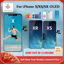 OLED Display-Screen-Replacement Xr-Display iPhone X for XS with True-Tone High-Quality