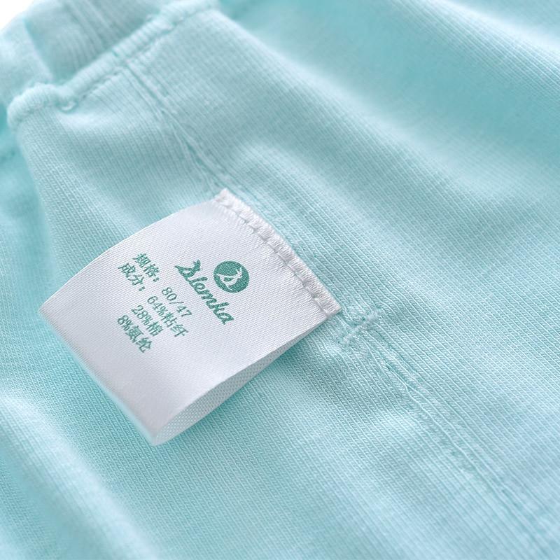 Sheng Zerka Summer Crawler GIRL'S Leggings Candy-Colored Free Form Cut Fabric Boneless Sewing Capri Pants Comfortable