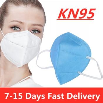 30/50/100 pcs KN95 Mask Certificate Mouth Face Mask Dustproof Anti-fog and Breathable Face Masks 95% Filtration Masks Flu