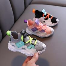 Sneakers Tenis Shoes Infantil Baby-Girls Boys Casual Children Non-Slip Spring Kid Mesh