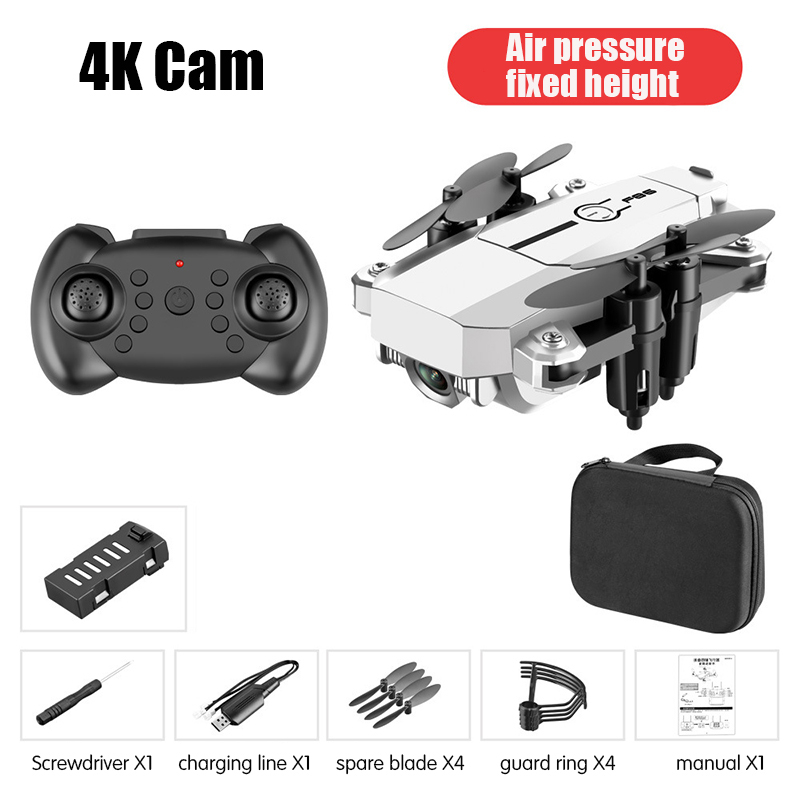 Mini Drone 4K 1080P HD Camera 360 Degree Flip Air Pressure Altitude Hold Foldable RC Quadcopter RC Helicopter Drone Toy