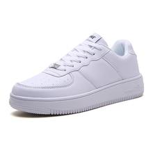 Zapatillas cómodas para Hombre, calzado de skateboard para Hombre, Zapatos informales transpirables, Zapatos clásicos blancos, Zapatos para Hombre
