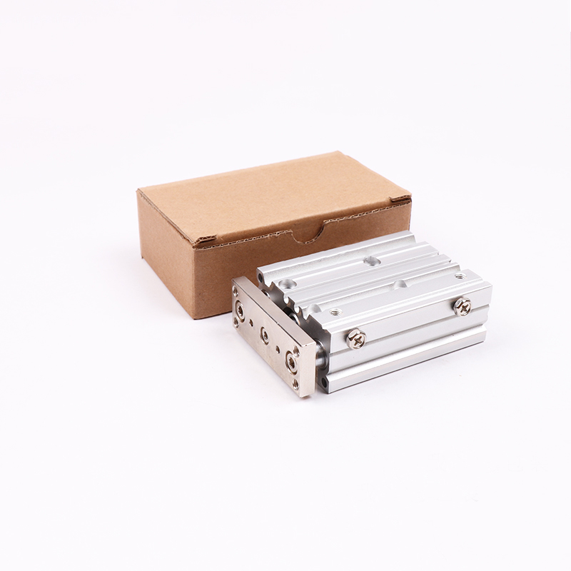 MGPM12 MGPM16 Bore 10-175 Compact pneumatic air cylinder with guide rod cylinder MGPM20-10 MGPM20-20 MGPM20-30