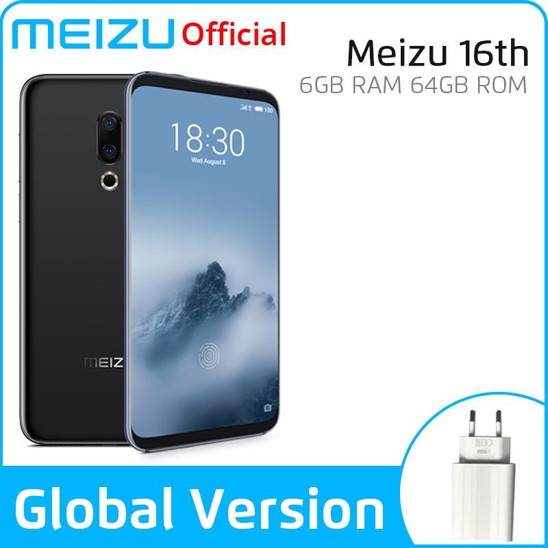Global version Meizu 16th SmartPhone 64GB 128GB Snapdragon 845 Octa Core Android Phone Dual Rear Camera In Screen Fingerprint|Cellphones|   - AliExpress