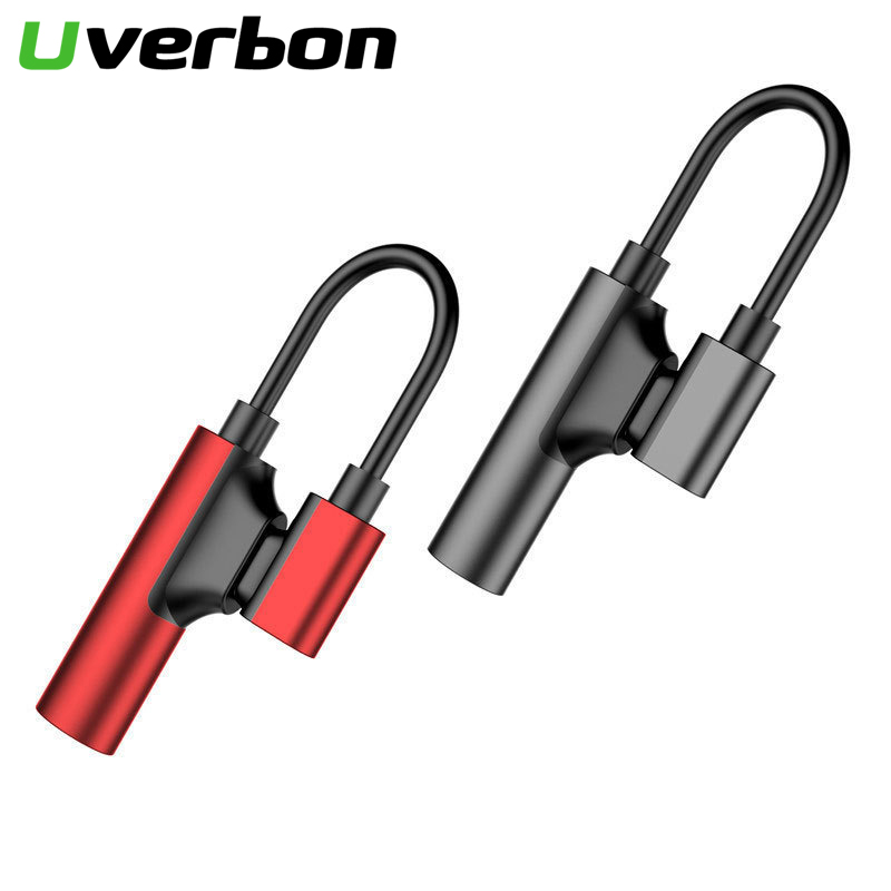 Splitter Headphone Cable USB Type C To 3.5mm Jack Type C Audio Aux Adapter Charger Cord Usb-c For Xiaomi Huawei Phone Converter