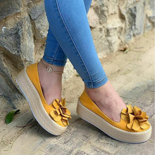 Dihope Floral Flats Women Shoes Casual Shoes Woman Platform Sneakers Slip On Leather Suede Ladies Loafers zapatos de mujer dqg 2018 spring casual women shoes loafers flats slip on zapatos mujer solid ladies shoes oxfords chaussures femme