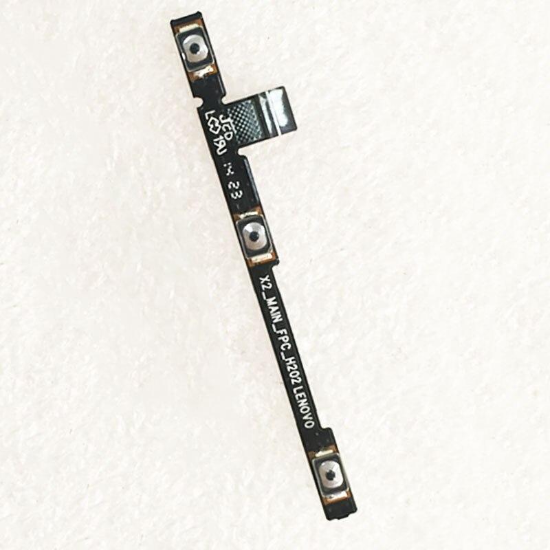 Ligar o botão de volume de energia cabo flexível fpc para lenovo vibe x2 X2-CU X2-TO