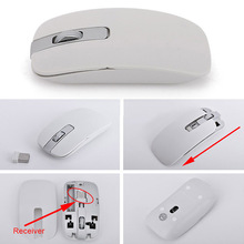 Gaming Keyboard Mouse Combo Wireless 2.4G Ultra Slim Mute Mice Set for PC Laptop Desktop GV99