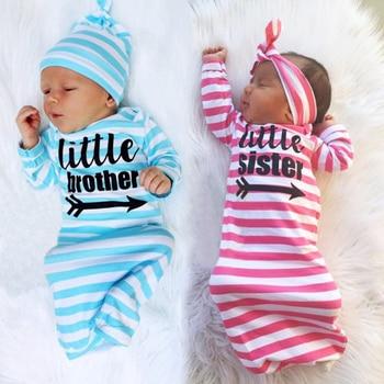 Newborn Cotton Stripe Clothes