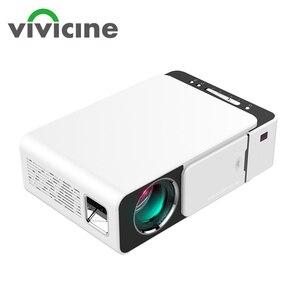 Image 1 - Vivicine V20 ucuz akıllı Video projektör, HDMI USB PC el taşınabilir Mini LED projektör için film oyunları