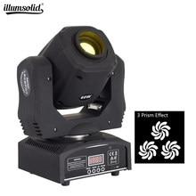 Mini lumière Led à tête mobile, 60w, avec prisme à 3 faces, éclairage de scène, effet Gobo, 11 canaux, DJ, Spot lumineux pour mariage, DMX512