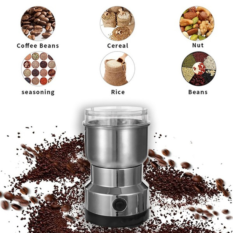 Stainless Steel Coffee Grinder, Traditional Chinese Medicine Grinder, Household And Commercial Dry Grinder, Food Grinder, Grinde