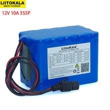 LiitoKala 100% nuova protezione batteria ricaricabile al litio di grande capacità 12 V 10Ah 18650 capacità 12 v 10000 mAh con BMS