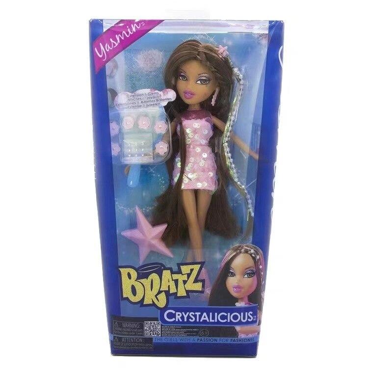 Original Boxed Moxie Girls Friends Bratz Kidz Doll Dress Up Doll Best Gift For Girl Long Hair DIY Dream Toys For Children