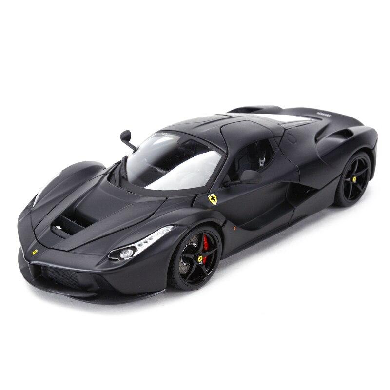 Bburago 1:18 Laferrari рафинированная версия спортивный автомобиль статическое моделирование литые транспортные средства Коллекционная модель автомобиля игрушки|Игрушечный транспорт|   | АлиЭкспресс