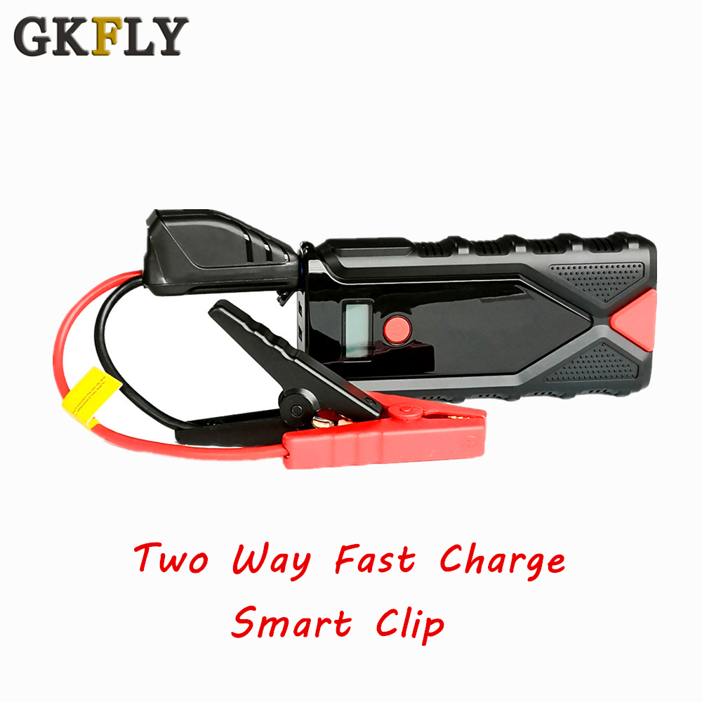 2000A High Capacity Car Jump Starter Power Bank 12V Portable Battry Booster Charger For The Emergency Starter Cables Auto Device