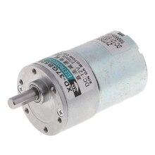 XD-37GB520 DC12V 10W 300RPM Micro Gear Motor High Torque Adjustable